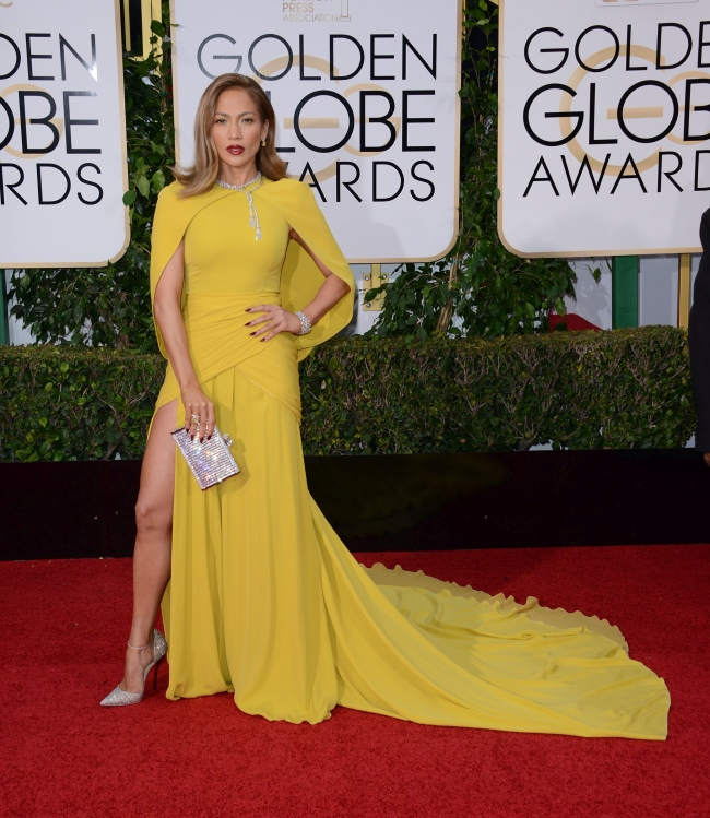 JENNIFER LOPEZ @ the 73rd Annual Golden Globe awards held @ the Beverly Hilton hotel. January 10, 2016